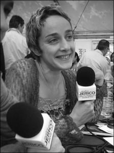 Carole Zalberg à radio Jéricho 2005