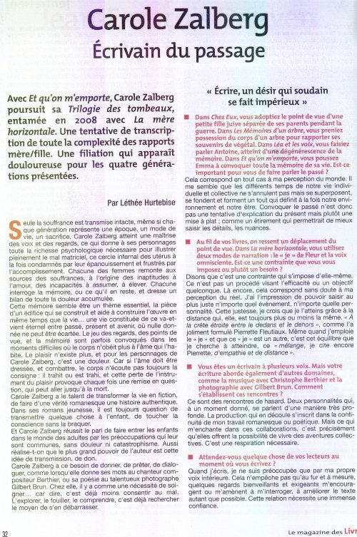 Magazine des Livres