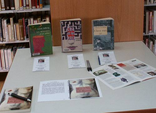 21 mai 2005, à la bibliothèque Saint-Fargeau, Paris XXe